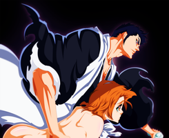 Bleach 535: Masaki and Isshin Color by Sensational-X