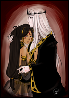 Elric and Cymoril by AlexielApril