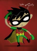 robin rendered by richard-chin