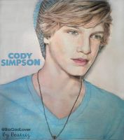 Cody Simpson -  Drawing by BeatrizLoveMyJesus