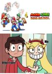 My reaction to Mario and Luigi: Paper Jam by rabbidlover01