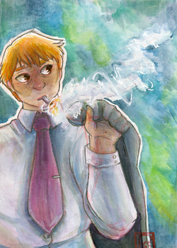 Reigen by ghostflannel