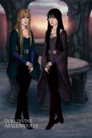 For Kendra711: Zarconia and Aquatia by SupernovaSword