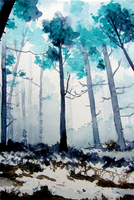 Forest of Fog by egonSchiele