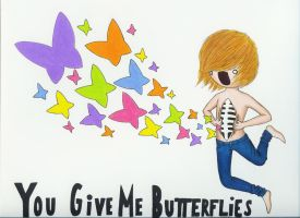 You Give Me Butterflies by TimBurtonFan11