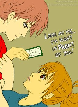 Chihayafuru - Right in Front of You by lauraneato