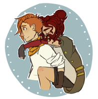Piggyback Ride by Twillywho