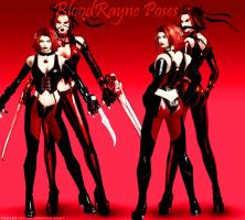 BloodRayne Poses by MissCatarina