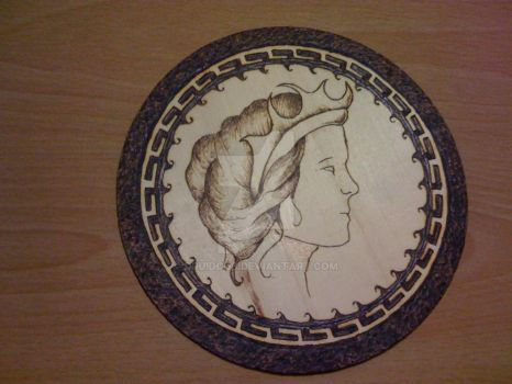 Hekate plate by DruidCub