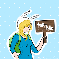 ~ Ask Fionna the Human ~ by The-Awesome-Fionna