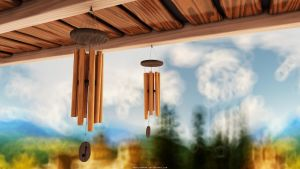Wind Chimes by abdelrahman