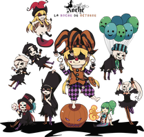 Welcome to the Malevolence Halloween Circus! by Szwey