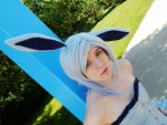 Pokemon: Glaceon by IX-WannaBe
