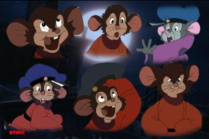 The Many Faces of Fievel by The-B-Meister