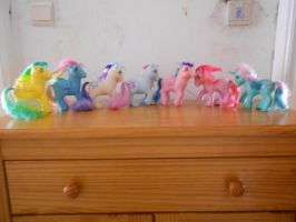 my little pony collection: twinkle-eyed ponies by theladyinred002