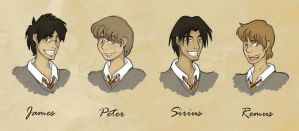 The Marauders by angel-smw