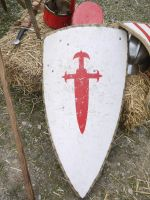 Medieval shield by Dragoroth-stock