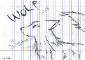 wolf by thelongdreamer