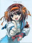 Haruhi-chan by Night-traveller