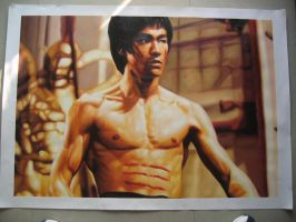 bruce lee by benw99