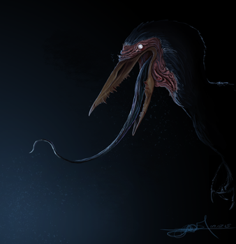 A Better Fake Theropod no. 2 by TheWoodParable