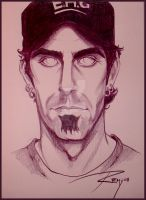 Hallow Eyes - Randy Blythe by Drawingremy