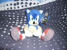 20th Ani Modern Sonic Plush by DarkGamer2011