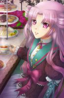 afternoon tea by the-chocoholic-girl