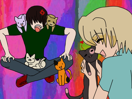 Too Many Effing Cats by CosmoGurl713