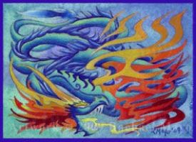ACEO Dragon 01 by rachaelm5