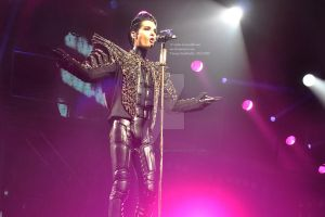 Bill Kaulitz, Humanoid tour 9. by violet-funeralflower