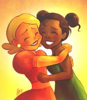 Best friends- Tia and Lottie by Do0dlebugdebz