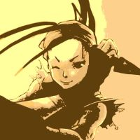 Street Fighter pop art Ibuki 5 by DevintheCool