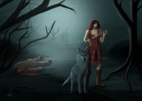 Red Riding Hood by XxMilaPaige