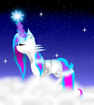 Magical Blue (OC) by sasiforever2000