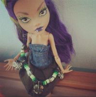 Lucky Clawdeen by SomeKindOfMonsters