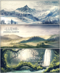 Luzor landscapes by areot