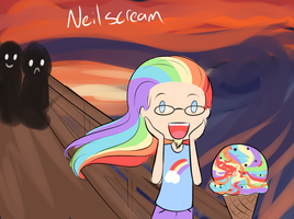 Neilscream by drawponies