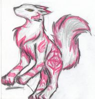 Silver Red Wolf by korovee
