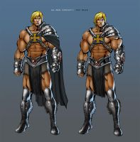 Unused He-man Concept by popmhan
