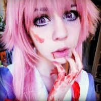 new makeup - official makeup Yuno Gasai 1 by Melted-Candy