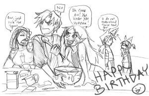 Birthday Cake Surprise by carrinth