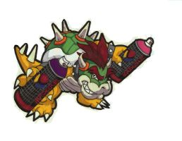 King Koopa Graffiti Troopa by Bonecold311