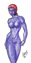 X2 Mystique 03 by LucasAckerman