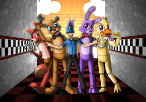 Five Nights of Fun by DarkRavenofChaos