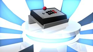 Arcade Fighting Stick by TimothyvdT