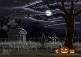 All Hallows eve by Ravenfire5