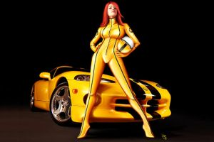 Bianca Beauchamps Viper by PierluigiAbbondanza