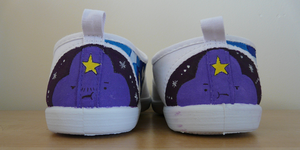 Lumpy Space Princess and Prince - AT Shoes WIP by KeitaEdelstein