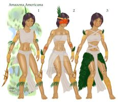 American Amazons Costumes by XAVERIVS